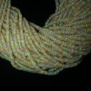 3mm opal beads