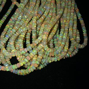 yellow ethiopian opal beads